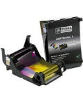 RIBBON ZEBRA YMCKO PRINTER CARD ZXP S1 100 PRINT ROLL