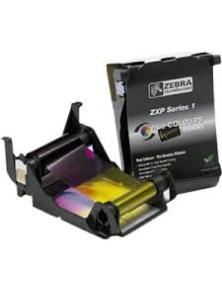 RIBBON ZEBRA YMCKO PRINTER CARD ZXP S1 100 PRINT ROLL