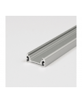 ALUMINIUM PROFILE 2M SLIM STANDARD GREY ANODIZED