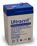 LEAD BATTERY CHARGERS  ULTRACELL UL4.5-6 - 6V 4,5 Ah