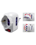 ROTATING PIN ADAPTER PLUGGED WITH SWITCH 16A