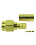 SMA PLUG REVERSE GOLDEN CRIMP CABLE ASSEMBLY