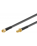 CABLE FOR WI-FI ANTENNA RP-SMA M / F 1 mt