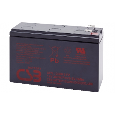 LEAD BATTERY CHARGERS CSB UPS123606