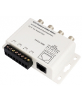 BALUN 4CH (BNC M) FOR VIDEO TRANSMISSION ON ETHERNET CABLE