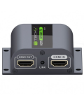 HDMI EXTENDER WITH IR ON CABLE CAT.6