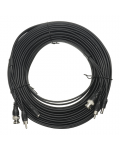 CABLE SYSTEMS OF VIDEO SURVEILLANCE OF 20 M RG59 + POWER