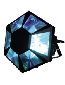 EFFETTO SPECIALE LED DIAMOND DMX