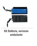 KIT AMBULANTI INTERNO (LITIO) BATT+COVER PER BILL RCH / MCT