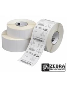 LABELS ZEBRA IN THERMAL PAPER Z-SELECT 57x32MM 2000D 12PZ
