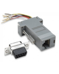 ADAPTER MODULAR 9p.F DB / RJ45 8 wires