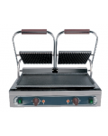 MEDIUM SIZED CAST IRON GRILL FLAT/RIBBED