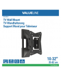SUPPORTO TV/MONITOR  10 - 32   RUOTABILE VLM-MFM11