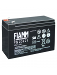 BATTERIA AL PIOMBO RICARICABILE FIAMM  12v 7.2 amp FG20721