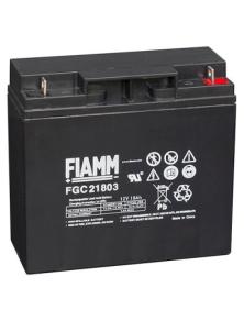 BATTERIA AL PIOMBO RICARICABILE FIAMM FGC21803  12v 18 amp
