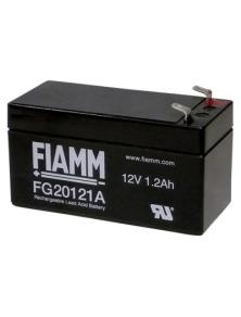 BATTERIA AL PIOMBO RICARICABILE FIAMM  FG20121 12v 1.2 amp