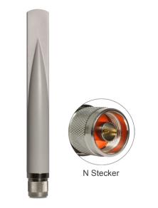 WLAN Antenne N-Stecker 802.11 b/g/n 2,5 dBi